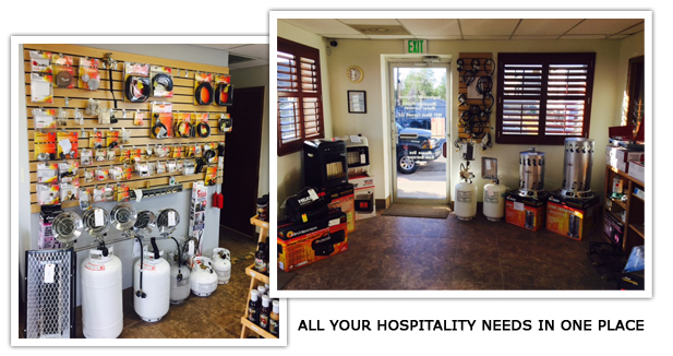 Propane for Hospitality Retail Store and Heater Showroom